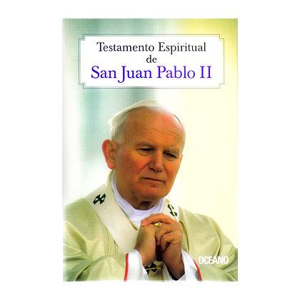 TESTAMENTO ESPIRITUAL DE SAN JUAN PABLO II