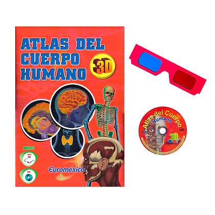 Atlas del Cuerpo Humano en 3D + DVD