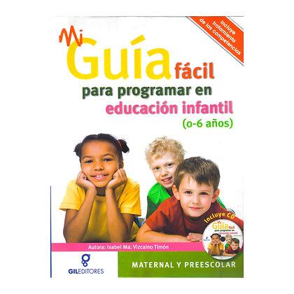 MI GUÍA FÁCIL PARA PROGRAMAR EN EDUCACIÓN INFANTIL