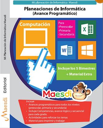 Mi Planeación de Informática Maesdi