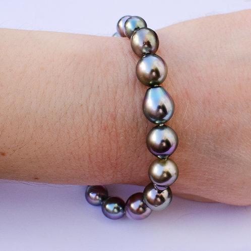 8-11mm Tahitian pearl bracelet