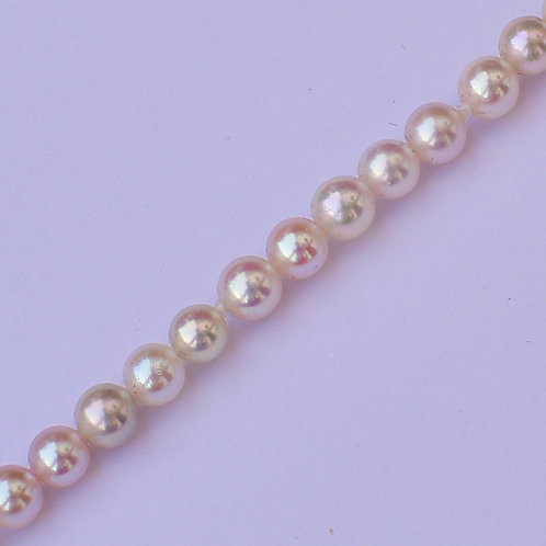 4.5-5mm baby akoya pearl necklace