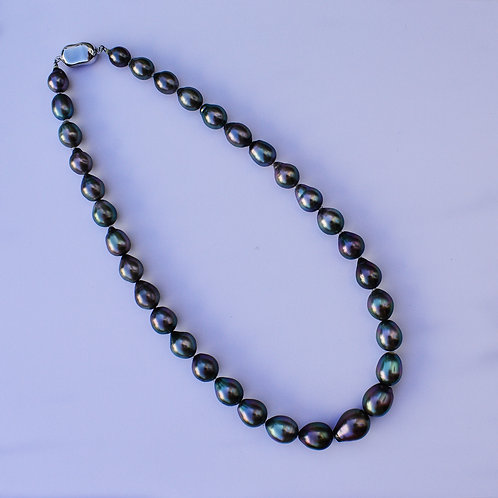 8-12mm Tahitian pearl necklace