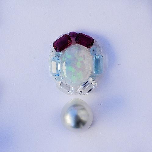 """I'm Here!"" 2.51ct Ethiopian opal pendant"