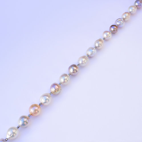 """""""Summer Rain"""" 11mm freshwater pearl necklace"""