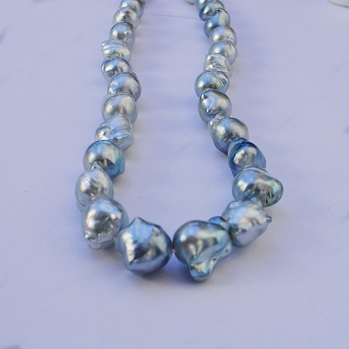 10-16mm Blue South Sea Pearl Strand
