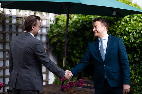 Ewell Property Market Knowledge James Bailey Shaking Hands with Mortgage Advisor.jpg
