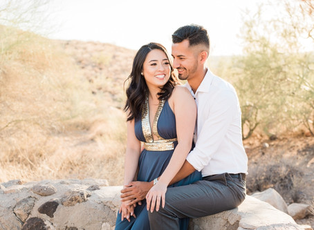 THUNDERBIRD MOUNTAIN COUPLES SESION