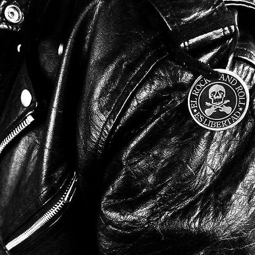"Medallón ""El Rock and Roll es Libertad"""