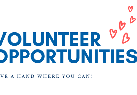 January Volunteer Opportunities