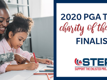 PGA Tour Selects STEP As Charity Of The Year Finalist