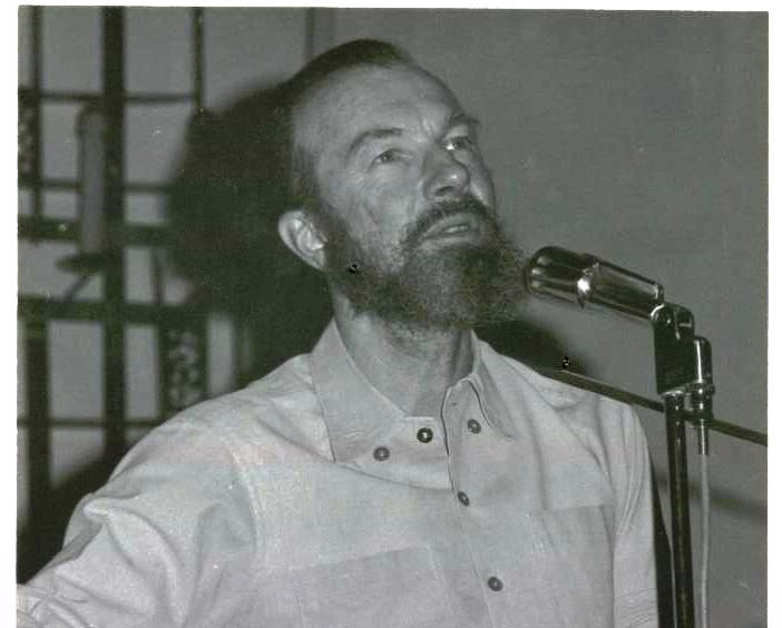 Pete Seeger 1973 in the Sanctuary