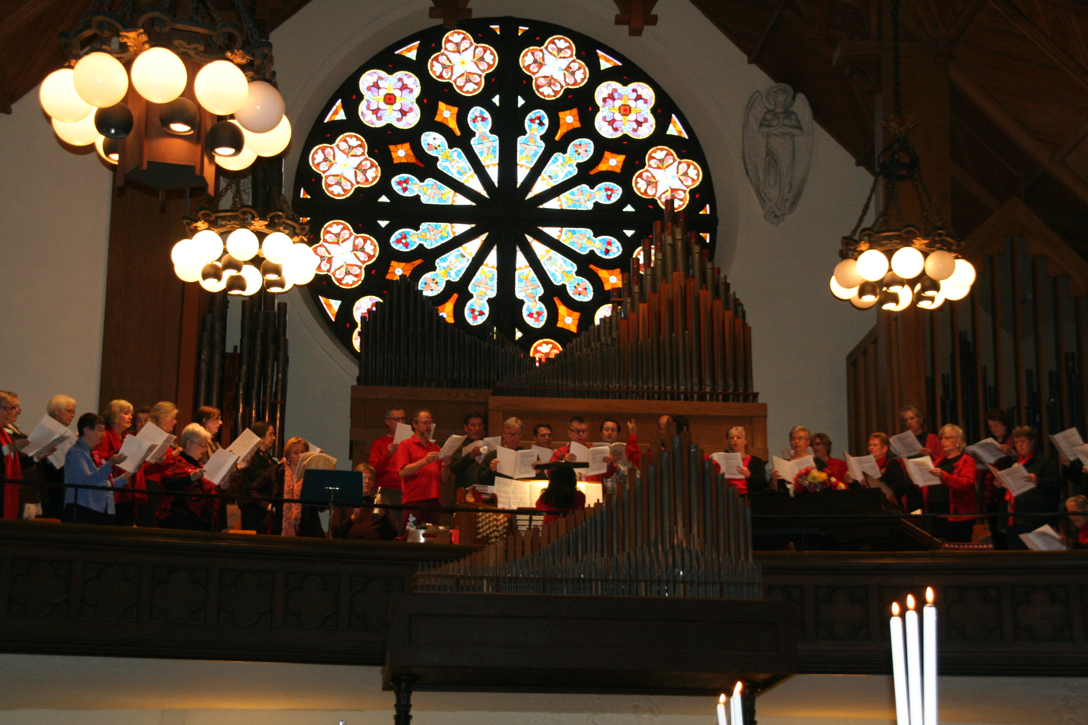 Choir Loft and Organ