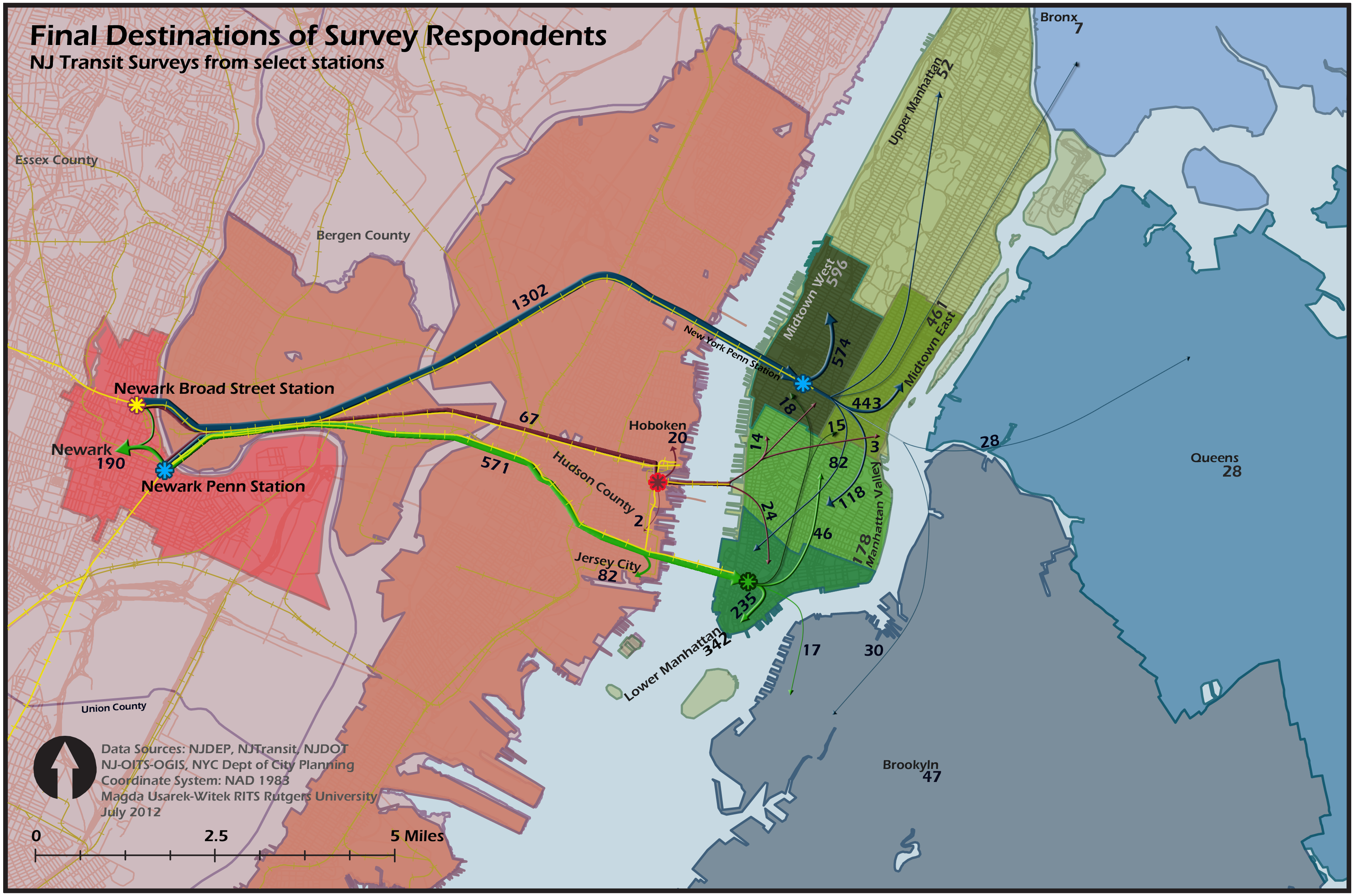 NJ Transit Commuter Survey