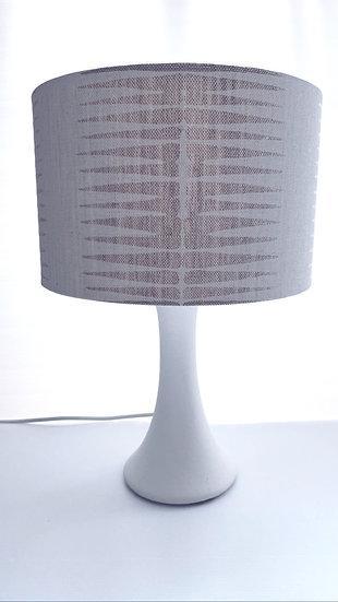 Walter G ikat chalk linen lamp