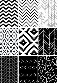 Black_White_Geometric
