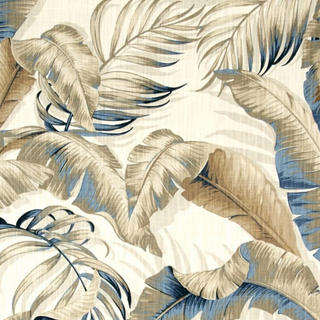 Tommy Banana Palm Blue/beige
