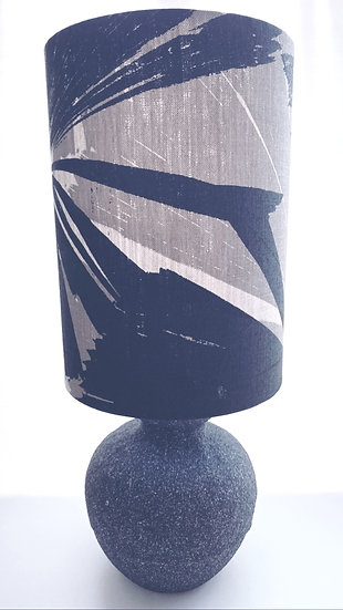 Ink & Spindle fan palm lamp