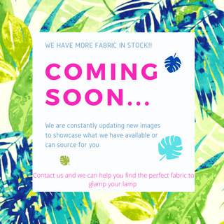More fabric coming soon!