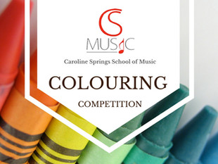 CS Music Colouring Competition