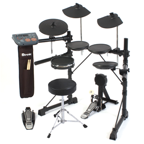 Dtronic EDQ5PLUS Electronic Drum Kit Package