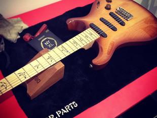 Changing  Guitar Strings.