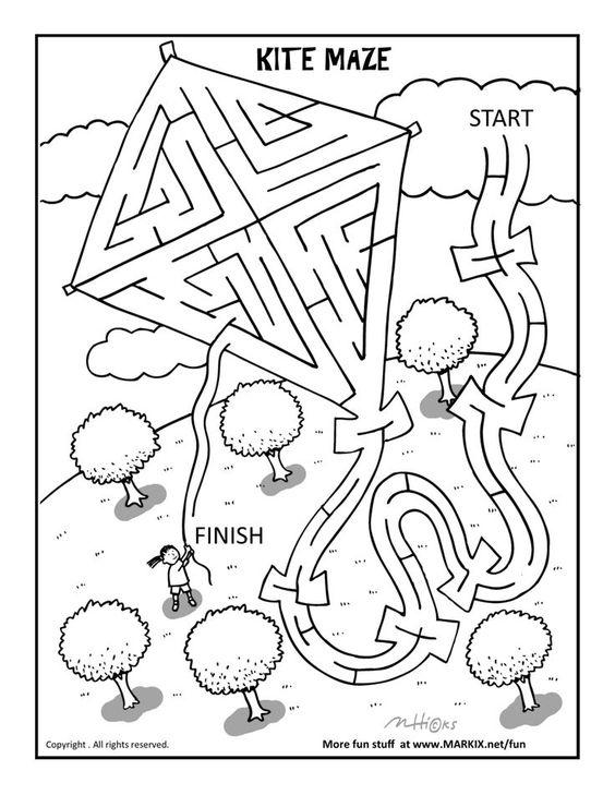 Kite Maze