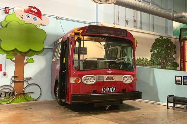 SJRTD Bus Exhibit