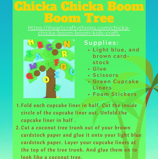 Chicka Chicka Boom Boom Tree (Complete)