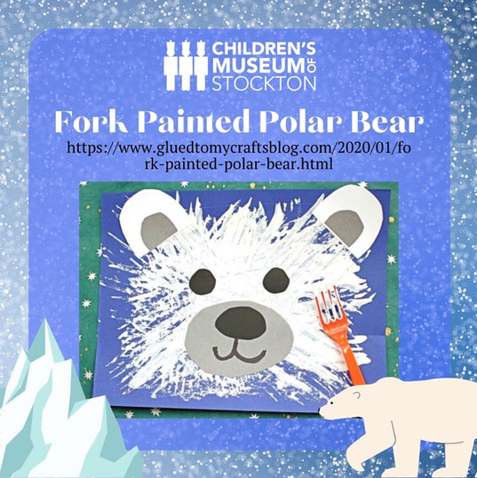 Fork Painted Polar Bear (Complete)CDM.jp