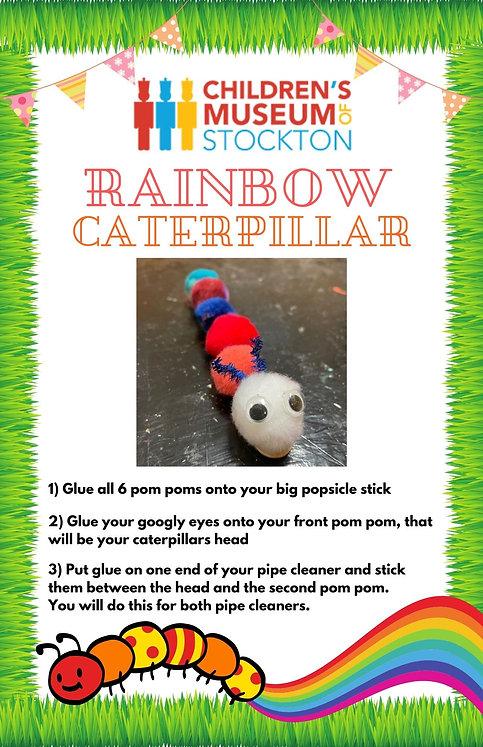 Rainbow CaterpillarCoffee filter butterf