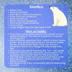 Fork Painted Polar Bear (Complete)CDM (1
