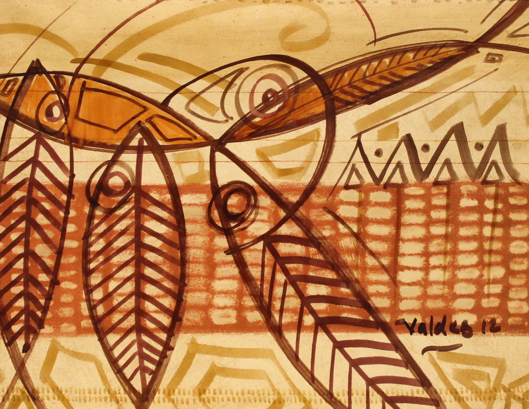 Pez Caribe Drawings