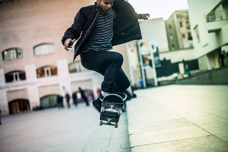 Skate-lifestyle | Cristina Jiménez Rey Fotografo-Fotografía Lifestyle-Deporte-sport-Macba-Barcelona
