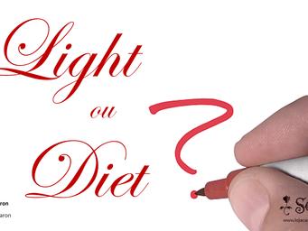 Alimentos diet ou light?