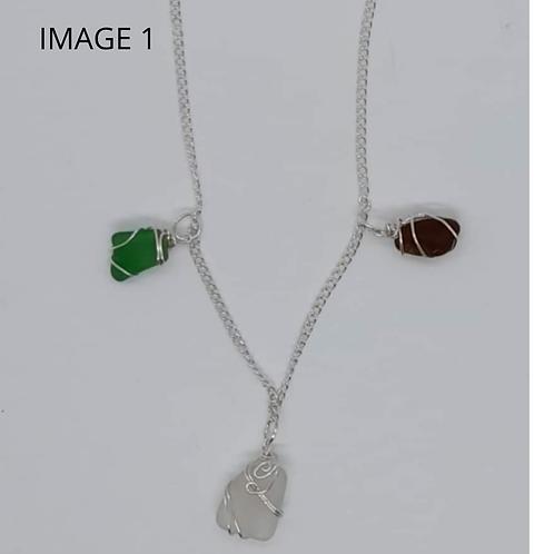 Sea Glass Bracelet/Anklet/Necklace