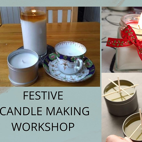 Christmas Candle Workshop in Blyth