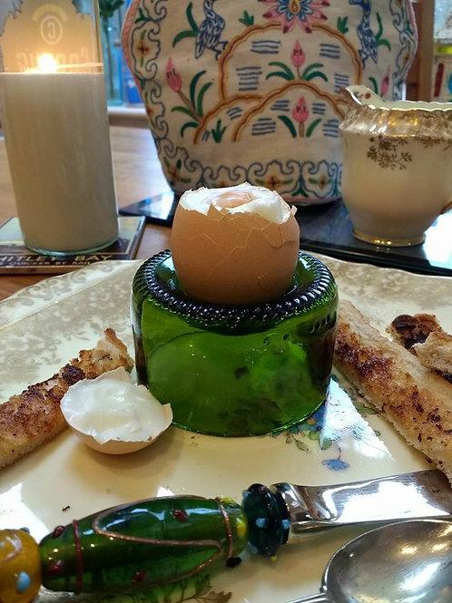 Wine Bottle Egg Cup
