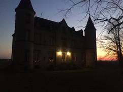 Château du Martret at Night