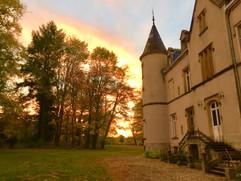 Dawn at Château du Martret