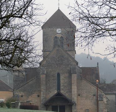 Church in Burgundy