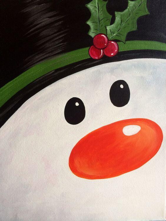 A Snowmans Stare