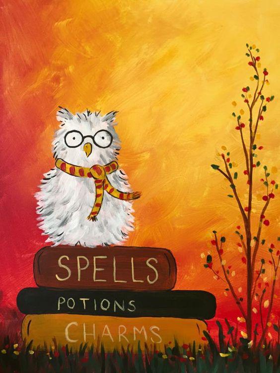 Wizardly Owl