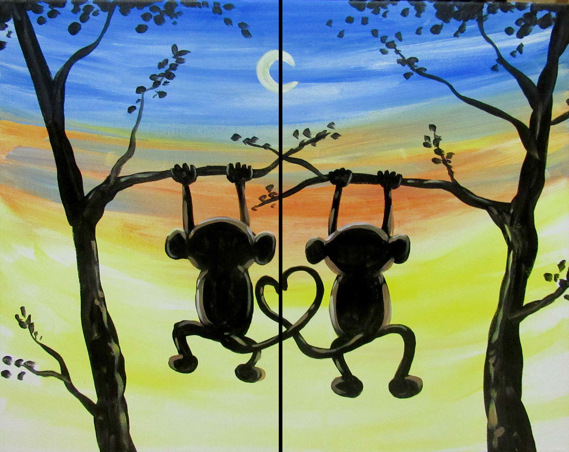 Monkey Love (Couples)