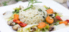 Rice with Roasted Vegetables