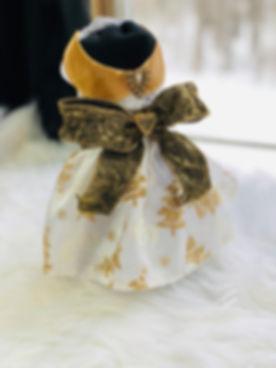 Winter Wonderland Dog Dress