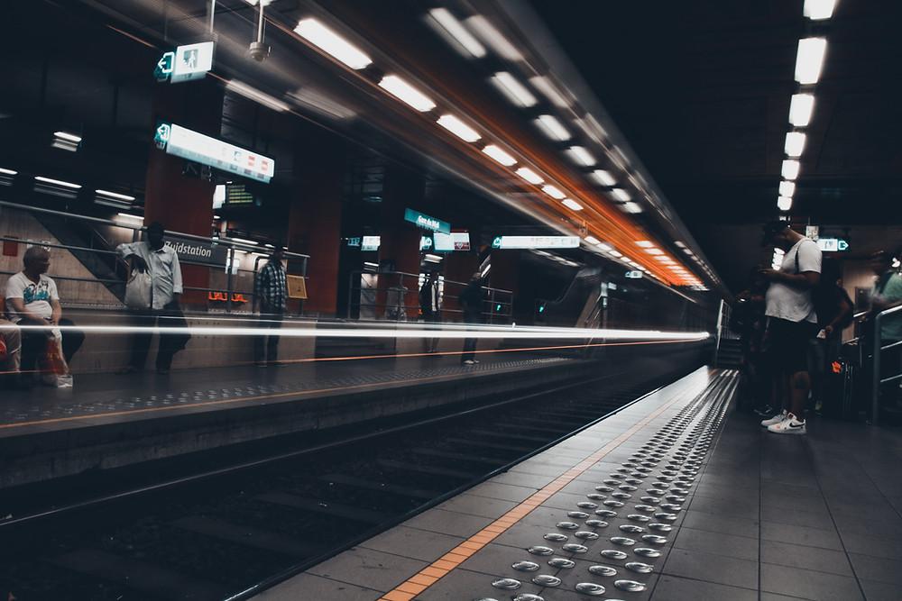 Metrostation Gare du midi