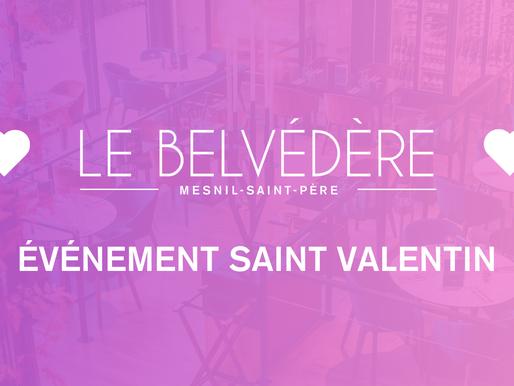 ÉVÉNEMENT SAINT VALENTIN - Weekend 12-13-14 Février 2021 💝