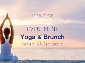 🧘♀ YOGA & BRUNCH - Samedi 25 Septembre 2021