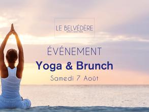🧘♀ YOGA & BRUNCH - Samedi 7 Août 2021